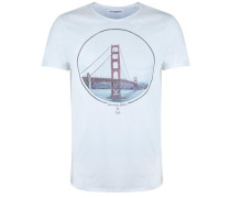Shirt Golden Gate Bridge weiß