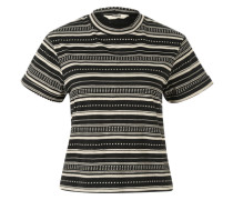 T-Shirt 'Kilda' schwarz / weiß