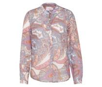 Sommerliche Bluse mischfarben / rosa