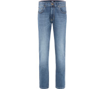 Jeans 'rando - Handcrafted' blue denim