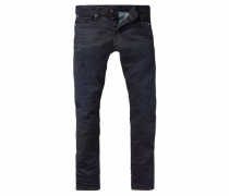 '3301 Tapered' Jeans nachtblau
