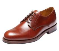 Schuhe Derby cognac