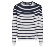 Sweatshirt enzian / weiß