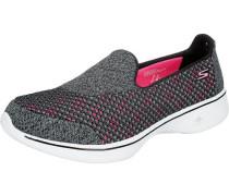 Go Walk 4 Kindle Sneakers schwarz