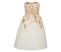 Kleid 'Paula' offwhite