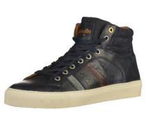 Sneaker hellblau / dunkelblau / orange / pastellrot / weiß