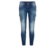 Cargo Jeans 'gioia' blue denim