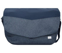Daypacks & Bags Wool Tech Messenger Tasche 33 cm blau