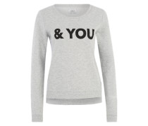 Sweater 'Onlsound' grau