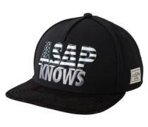 Cap 'c&s WL Asap Knows' grau / schwarz / weiß