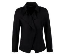 Blazerjacke in Garment Dye schwarz