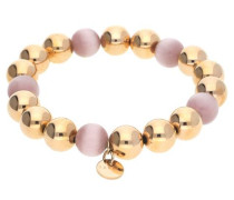 Armband 'Spheres' gold / rosegold / rosa