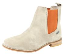 Chelsea Boot 'Galp' sand / dunkelorange