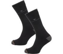 2 Paar Socken schwarz