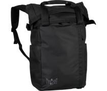 Fashion Rucksack 62 cm Laptopfach schwarz
