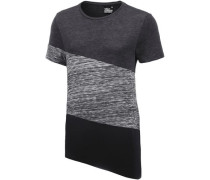 T-Shirt anthrazit / schwarz
