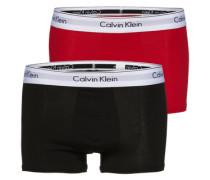 Pants im 2er-Pack rot / schwarz