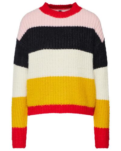 Pullover 'stream' mischfarben / rosa