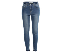 'VMSeven Tanja' Slim Fit Jeans blue denim