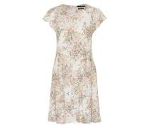 Florales Sommerkleid mischfarben / weiß