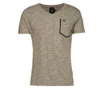 T-Shirt mit Brusttasche 'Today Plus' oliv