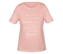 T-Shirt 'beautiful Moment' altrosa