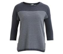 Pullover Strick grau
