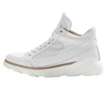 Exklusive Designer-Sneakers weiß