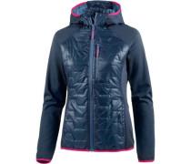 'Bjork' Funktionsjacke Damen dunkelblau / pink