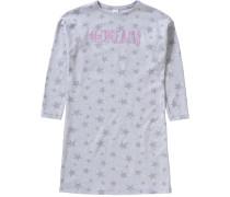 Sterne Nachthemd grau
