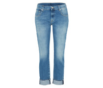 'Relaxed Skinny' Mid Waist Jeans blue denim
