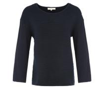 'sfaura 7/8 Knit' Pullover dunkelblau