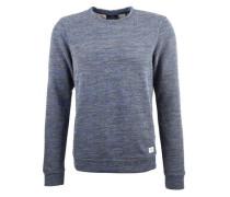 Pullover 'Colourful crewneck' blaumeliert