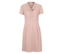 Kleid mit Spitze mischfarben