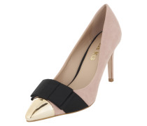 Pumps 'Alyssa' gold / rosa