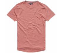 T-Shirts (kurzarm) »Classic HTR C-Nk TEE S/S RF« rot