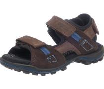 Sandalen für Jungen braun
