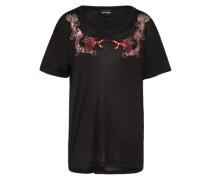 T-Shirt 'Dragon' mischfarben / schwarz