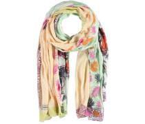 Modal Seiden Schal mischfarben