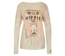 Pullover mit Kaschmir 'Wild Hippie' beige