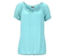Carmenshirt blau