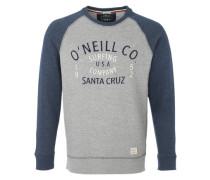 Sweatshirt mit Raglanärmeln blau