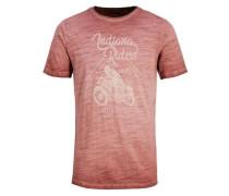 T-Shirt rotmeliert