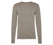Langarm-Shirt 'garson Wash Crew Neck Noos' grau