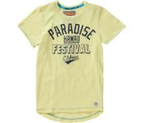 Baby T-Shirt für Jungen gelb / schwarz