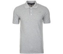 Classic Poloshirt Herren grau