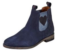 Chelsea Boot 'julia' mit Herz blau
