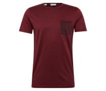 T-Shirt 'shddamek SS O-Neck Tee' rot