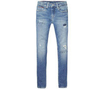 Jeans 'nora RR Skinny Mlrest' blue denim