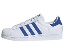 Schuhe 'Superstar' blau / weiß